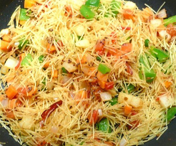 Vermicelli Upma Healthy Indian