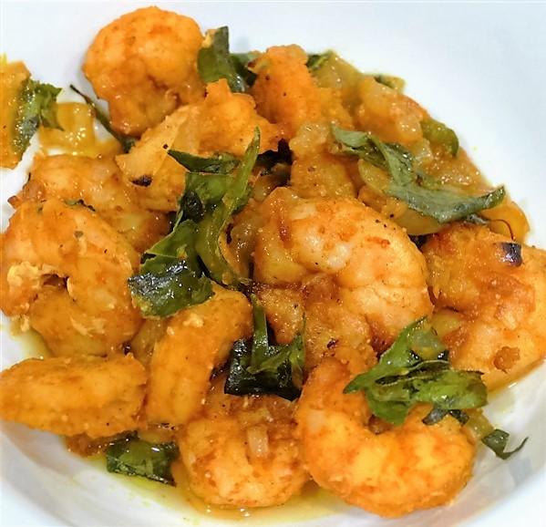 Curry Leaf Shrimp