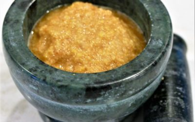 Yellow Mung Raw Onion Chutney