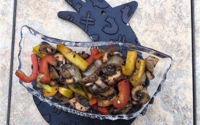 Easy Colored Peppers & Mushroom Stir Fry