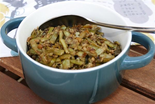Cluster Beans-Coconut-Ginger Sauté