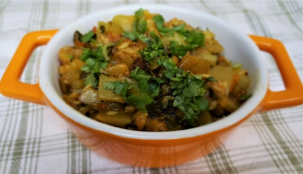 Quick & Delicious Opo Squash Fenugreek Curry